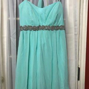 Dresses & Skirts - Aqua mini dress
